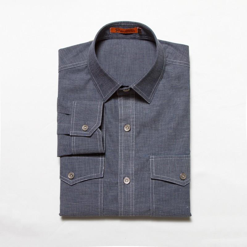 denim shirt pockets - photo #24
